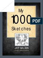 'My 1000 Sketches' - jay Salian