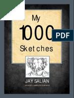 'My 1000 Sketches' - jay Salian
