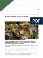 Thai granny completes university degree at 91 - BBC News.pdf