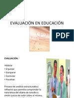 Evaluación en Educación