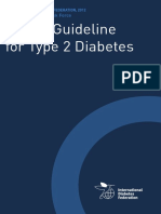 Global Guideline for Type 2 Diabetes by diabetesasia.org