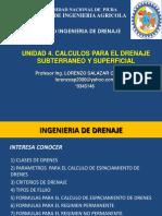 Unidad 04 Calculos Para El Drenaje Subterraneo 02