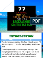 77 Amazing, Helpful, Money-Saving Tips for Backpacking South-East Asia