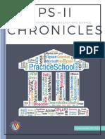 PS - II Chronicles II Sem 2015-16