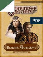 S04-09 the Blakros Matrimony