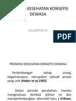 PROMOSI KESEHATAN KONSEPSI DEWASA,iii.ppt