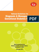 National Guidelines for Diagnosis & Management of Gestational Diabetes Mellitus By Diabetesasia.org