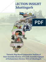 Pre Election Insight Chhattisgarh 2013 - 2014 - eBook | Print Book | Web Access by Datanet India