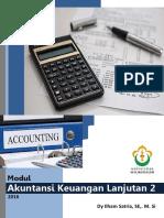 Modul Akuntansi Keuangan Lanjutan 2 by Dy Ilham Satria