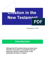 10 Creation in the New Testament - Ekkehardt Mueller