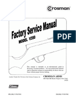 Crosman 357 Factory Service Manual | Gun Barrel | Trigger