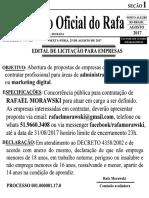 Licitação Empresas Porto Alegre Rafa Morawski