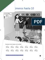 Matemática Cuadernillo de Ejercicios - 1° Básico