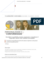 Personalidade DISC_ C – Conformidade