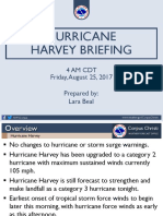CRP 4 Am Harvey Briefing 08-25-17