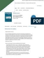 Metabolomics - Incl. Option to Publish Open Access