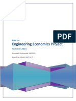 Engg. Economics Project