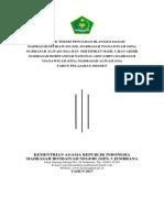 Cover Juknis Penulisan Blangko Ijasah