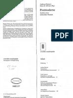 Andreas Huyssen [Hrsg]_Postmoderne_Zeichen Eines Kulturellen Wandels_1993