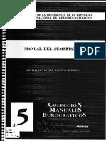Manual Del Sumariante - URUGUAY