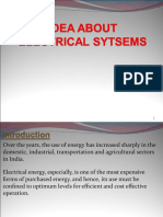 Ideas of Electrical System