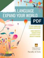 Languages Brochure