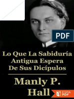 Lo Que La Sabiduria Antigua Es - Manly Palmer Hall