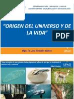 Origen Del Universo y de La Vida - Dr. Gonzalez C.