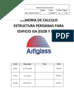 CAL-PRO-09 Memoria de Calculo Persianas V00