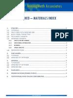 Index Materialsupport