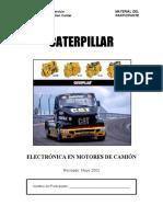 Electronica en Motores de Camion - Caterpillar