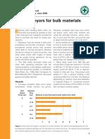 Belt conveyors for bulk materials  - Operations