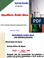 4 Aula - Equilbrio Cido-Base