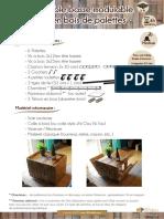 DIY Tutoriel Table Basse Modulable Pallets Benoit Brousseau