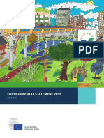 European Council - Environmental Statement 2016