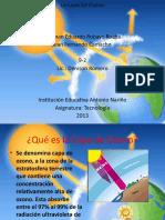 Capa de Ozono Mejor Diapositiva