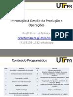Apresentacao Introducao Gestao Da Producao e Operacoes_2016_1