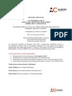 Segunda Circular Congreso AsAECA 2018