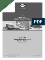 Comissionamento Para Controle de Tensão, Reativo e Fator de Potência Externo
