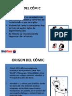 PPT El origen del cómic