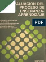 Evaluación Del Proceso de Enseanza-Aprendizaje