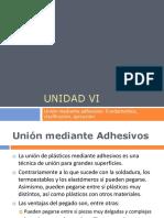Unión de Plásticos Mediante Adhesivos