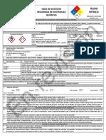 HDS Acido Nitrico NOM 018 2015 MARY MEAG Hoja de Datos (3)
