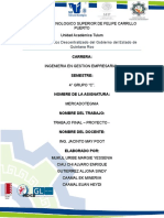 Proyecto Marketing - Primera Parte Equipo Minerva-sindy-margie-Alvaro-heydi