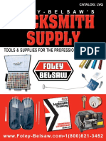 Locksmith Supply Catalog - Foley
