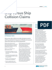 Ship Versus Ship Collision