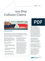 Ship Versus Ship Collision