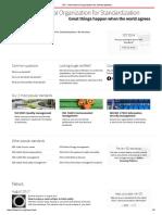 ISO - International Organization for Standardization