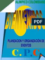 Planeacion y Organización de Eventos Por Ramiro Garzon