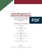 1 team 2 project management course documents final